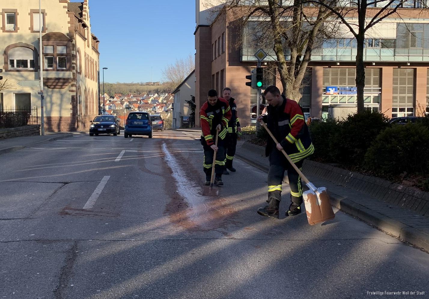 Straßenverunreinigung